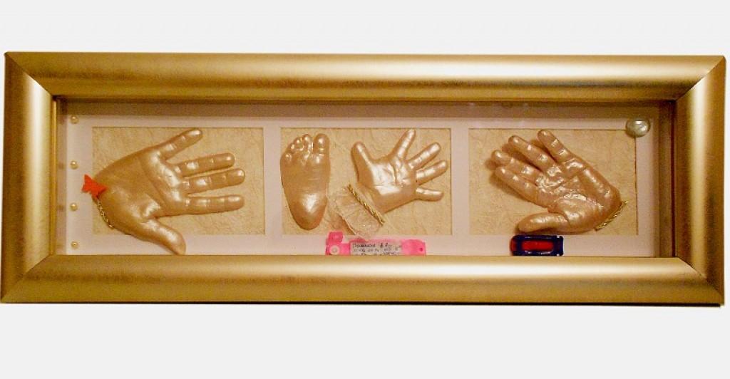 Слепок рук всей семьи своими руками